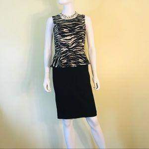 Dresses & Skirts - DKNY Donna Karen New York Dress Zebra Print